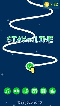 Stay on Line poster