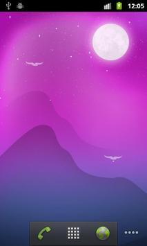 Blooming Night Live Wallpaper apk screenshot