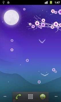 Blooming Night Live Wallpaper poster