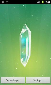 Lucky Crystal Live Wallpaper poster
