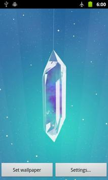 Lucky Crystal Live Wallpaper apk screenshot