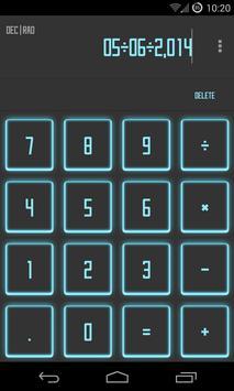Calculator SAO Theme poster