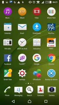 Xperia Home Launcher 6.0 poster