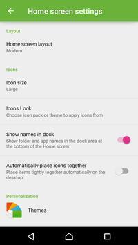 Xperia Home Launcher 6.0 apk screenshot