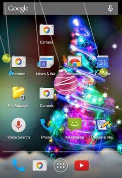 Xmas Ornaments Livewallpaper screenshot 2