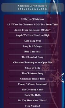 Christmas Carol Songbook poster