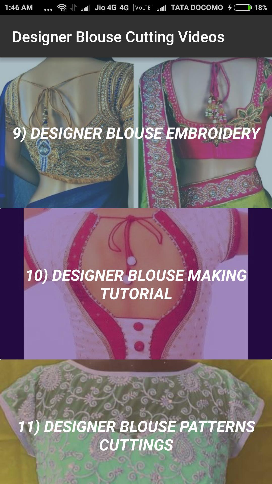 3d71c16e8d Designer Blouse Cutting Videos 2018 Latest poster Designer Blouse Cutting  Videos 2018 Latest screenshot 1 ...