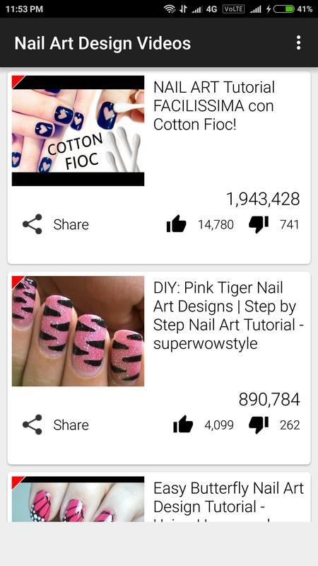Nail Art Design Videos APK Download - Free Entertainment APP for ...