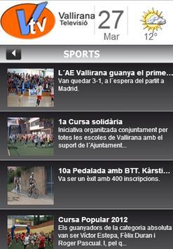 Vallirana TV screenshot 1