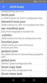 JSON Buddy apk screenshot