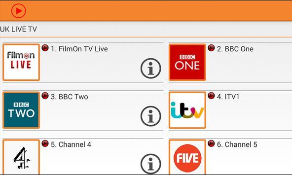 PlayTV - Live TV FREE screenshot 1