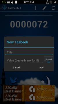 Multi Tasbeeh screenshot 3