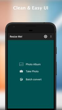 Resize Me! - Photo & Picture resizer apk screenshot