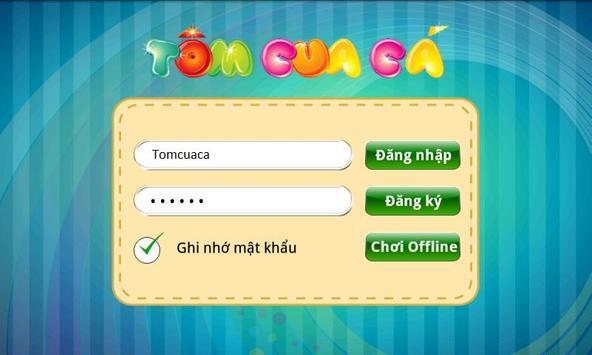 Bau Cua Ca Online (Tom Cua Ca) poster