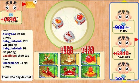 Bau Cua Ca Online (Tom Cua Ca) screenshot 5