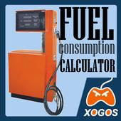 Fuel consumption calculation icon