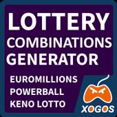 Lottery Combinations Generator icon