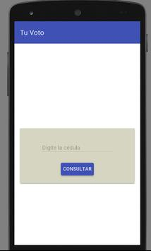 tuVoto apk screenshot
