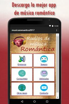 Radios de Música Romantica apk screenshot