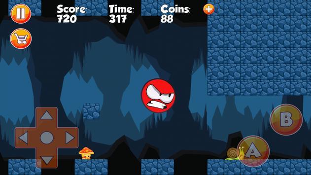 Super Red Ball 5 World apk screenshot