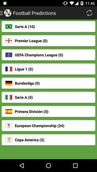 Football Predictions screenshot 1