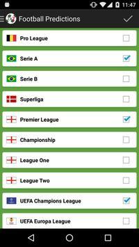 Football Predictions screenshot 3
