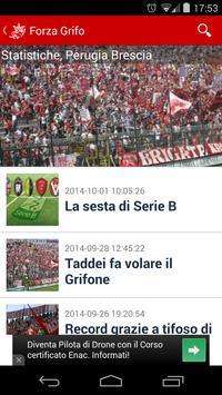 Forza Grifo Perugia poster