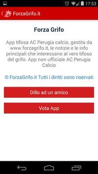 Forza Grifo Perugia apk screenshot