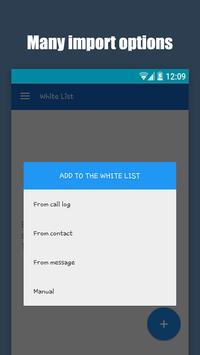 Call blocker - Blacklist apk screenshot