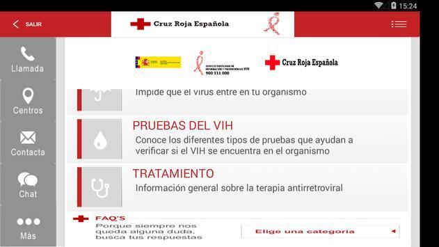 VIH/SIDA Cruz Roja Española apk screenshot