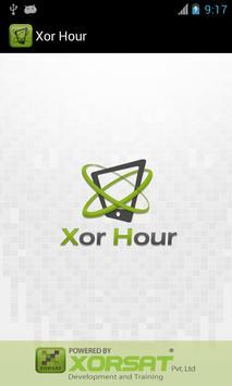 Xor Hour poster