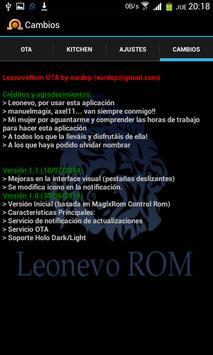 Xorware Leonevo Rom Control screenshot 3