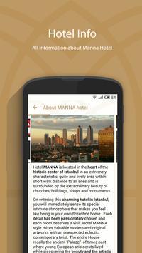 Manna Hotels apk screenshot