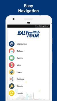Balttour 2018 poster