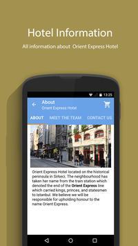 Orient Express Hotel screenshot 3