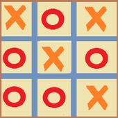 (x_o) tic tac toe 1983 icon