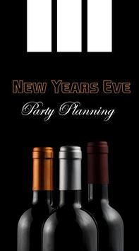 New Years Eve Party Planning poster