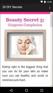 30 Beauty Secrets for Women screenshot 4