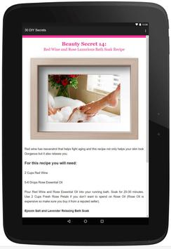30 Beauty Secrets for Women screenshot 5
