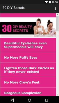30 Beauty Secrets for Women screenshot 1