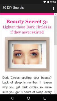 30 Beauty Secrets for Women screenshot 2