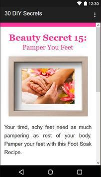 30 Beauty Secrets for Women screenshot 3