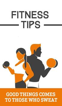 Fitness Tips poster