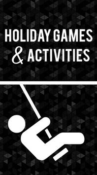 Holiday Games and Activities poster