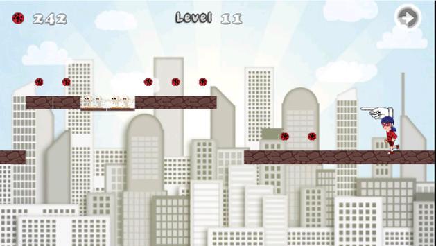 Super LadyBug adventure hero apk screenshot