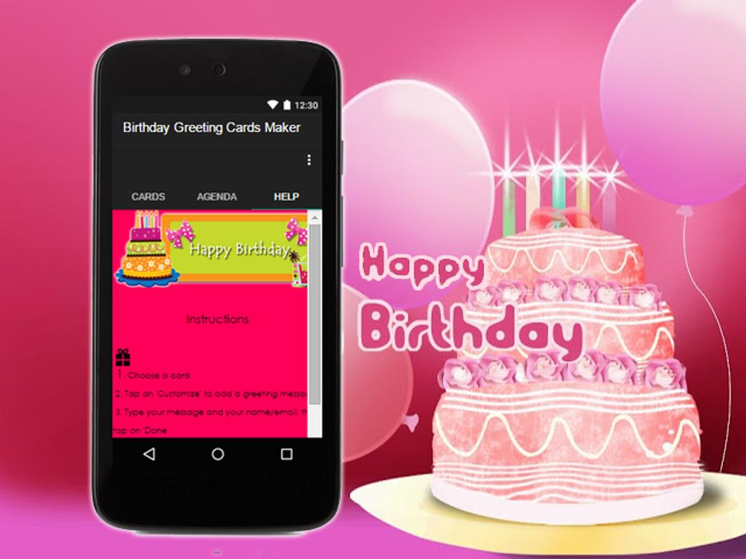 Birthday Greeting Cards Maker Screenshot 11