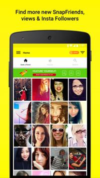 GetFriends - Find & add friends for Snapchat poster