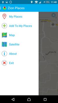Zion Places Marker apk screenshot