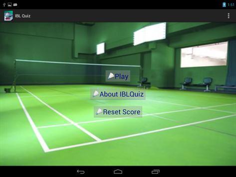 IBLQuiz apk screenshot