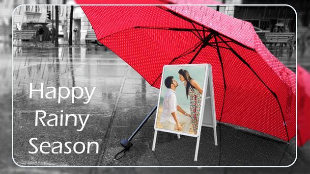 Rainy Photo Frame & GIF poster